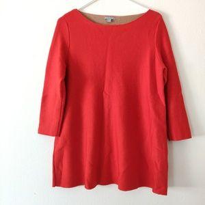 COS Red Orange Wool Dress
